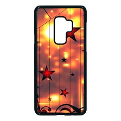 Star Radio Light Effects Magic Samsung Galaxy S9 Plus Seamless Case(black) by HermanTelo