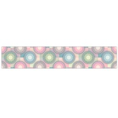Seamless Pattern Pastels Background Large Flano Scarf