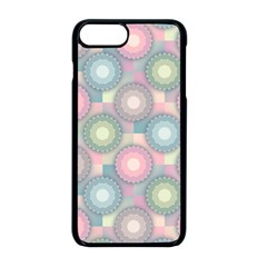 Seamless Pattern Pastels Background Iphone 8 Plus Seamless Case (black)