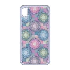 Seamless Pattern Pastels Background Iphone Xr Seamless Case (white)