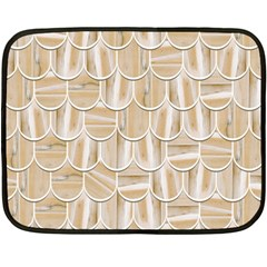Texture Background Brown Beige Fleece Blanket (mini)