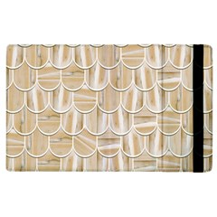 Texture Background Brown Beige Apple Ipad 2 Flip Case by HermanTelo