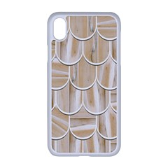 Texture Background Brown Beige Iphone Xr Seamless Case (white)