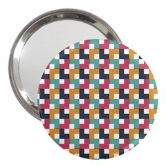 Abstract Geometric 3  Handbag Mirrors by HermanTelo
