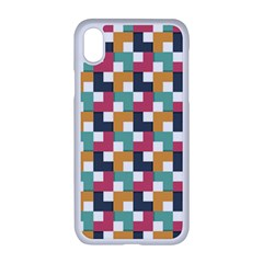Abstract Geometric Iphone Xr Seamless Case (white)