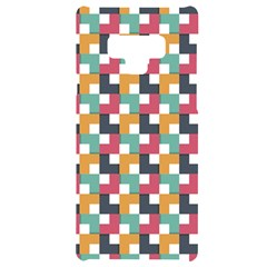 Abstract Geometric Samsung Note 9 Black Uv Print Case  by HermanTelo