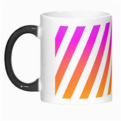 Abstract Lines Mockup Oblique Morph Mugs