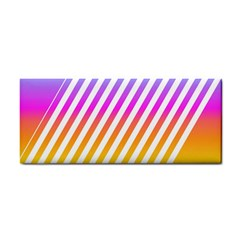 Abstract Lines Mockup Oblique Hand Towel