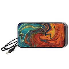 Abstract Art Pattern Portable Speaker