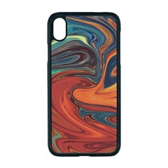 Abstract Art Pattern Iphone Xr Seamless Case (black)