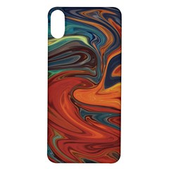Abstract Art Pattern Iphone X/xs Soft Bumper Uv Case