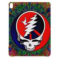 Grateful Dead Apple Ipad Pro 12 9   Black Uv Print Case