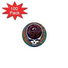Grateful Dead Ahead Of Their Time 1  Mini Buttons (100 Pack)