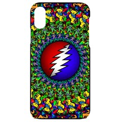 Grateful Dead Iphone Xr Black Uv Print Case