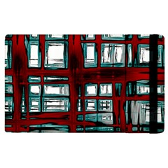 Abstract Color Background Form Apple Ipad 3/4 Flip Case