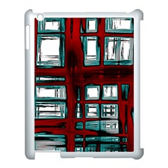 Abstract Color Background Form Apple Ipad 3/4 Case (white)