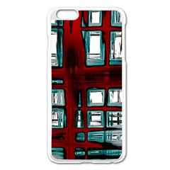 Abstract Color Background Form Iphone 6 Plus/6s Plus Enamel White Case
