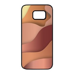 Autumn Copper Gradients Samsung Galaxy S7 Edge Black Seamless Case by HermanTelo