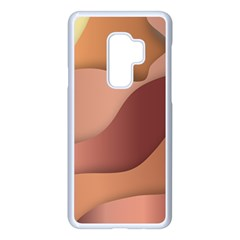 Autumn Copper Gradients Samsung Galaxy S9 Plus Seamless Case(white) by HermanTelo