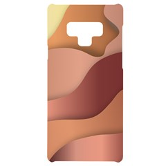 Autumn Copper Gradients Samsung Note 9 Black Uv Print Case  by HermanTelo