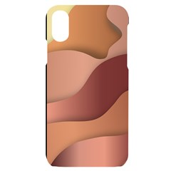 Autumn Copper Gradients Iphone X/xs Black Uv Print Case