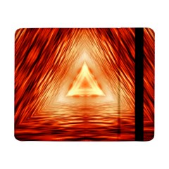 Abstract Orange Triangle Samsung Galaxy Tab Pro 8 4  Flip Case by HermanTelo