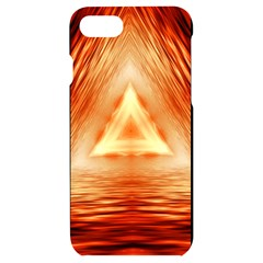 Abstract Orange Triangle Iphone 7/8 Black Uv Print Case