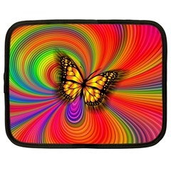 Arrangement Butterfly Netbook Case (large) by HermanTelo