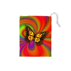 Arrangement Butterfly Drawstring Pouch (small)