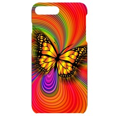Arrangement Butterfly Iphone 7/8 Plus Black Uv Print Case