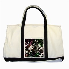 Abstract Science Fiction Two Tone Tote Bag