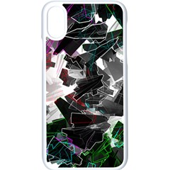 Abstract Science Fiction Iphone X Seamless Case (white)