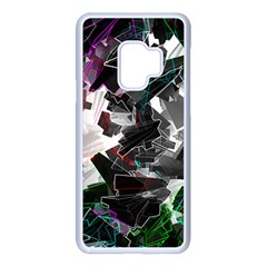 Abstract Science Fiction Samsung Galaxy S9 Seamless Case(white)