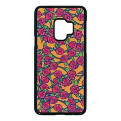 Roses  Samsung Galaxy S9 Seamless Case(black)