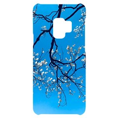 The Beauty Of Life  Cherry Blossom Tree Samsung S9 Black Uv Print Case by WensdaiAmbrose