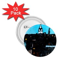 City Town 1 75  Buttons (10 Pack)