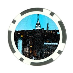 City Town Poker Chip Card Guard