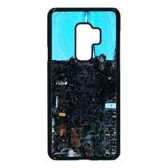 City Town Samsung Galaxy S9 Plus Seamless Case(black)