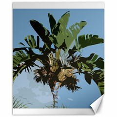 Palm Tree Canvas 11  X 14  by snowwhitegirl