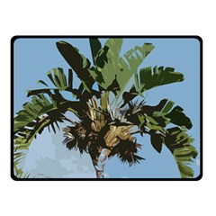 Palm Tree Double Sided Fleece Blanket (small)  by snowwhitegirl