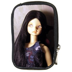 Persephone The Vampire Compact Camera Leather Case by snowwhitegirl