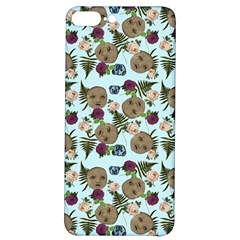 Cracked Doll Pattern Blue Iphone 7/8 Plus Soft Bumper Uv Case