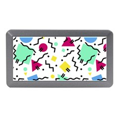 Abstract Squqre Chevron Memory Card Reader (mini)