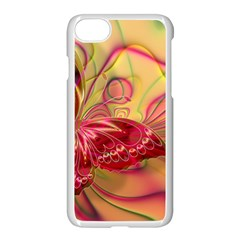 Arrangement Butterfly Pink Iphone 7 Seamless Case (white)