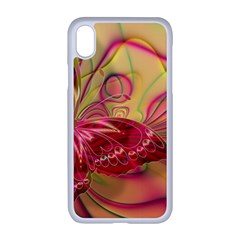 Arrangement Butterfly Pink Iphone Xr Seamless Case (white)