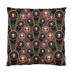 Abstract Pattern Green Standard Cushion Case (two Sides) by HermanTelo