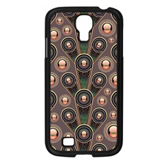 Abstract Pattern Green Samsung Galaxy S4 I9500/ I9505 Case (black) by HermanTelo