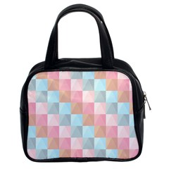 Background Pastel Classic Handbag (two Sides) by HermanTelo