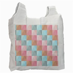 Background Pastel Recycle Bag (two Side) by HermanTelo