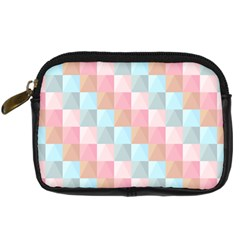 Background Pastel Digital Camera Leather Case by HermanTelo